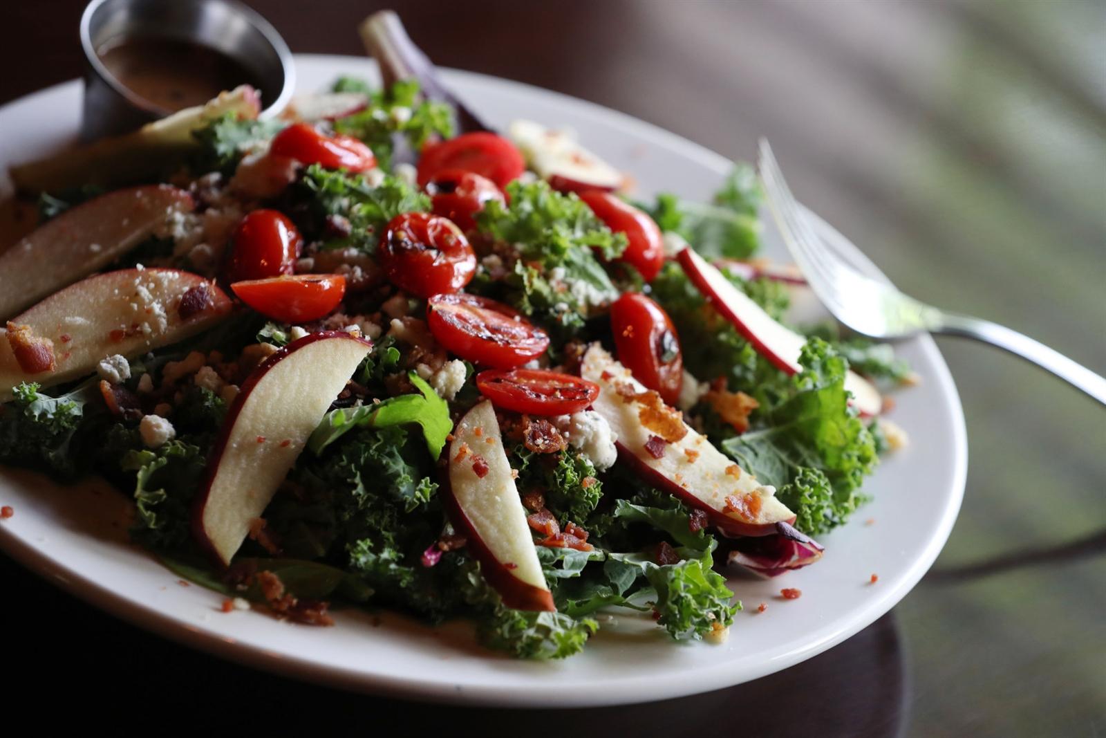 Cask + Cow Kale + Apple Salad