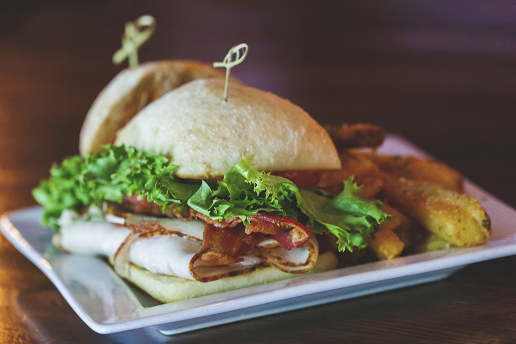 Irresistible Mouthwatering Turkey Club Burger